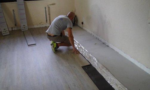 pose de revêtement de sol vinyle (pvc) Lons-le-Saunier